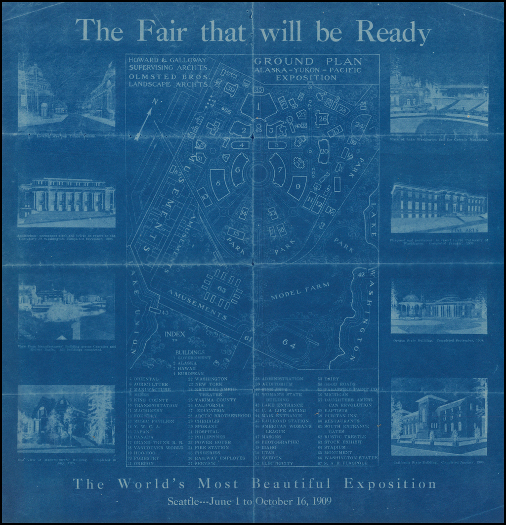 (Seattle / Alaska-Yukon-Pacific-Exposition)  The Fair that will be Ready By Anonymous