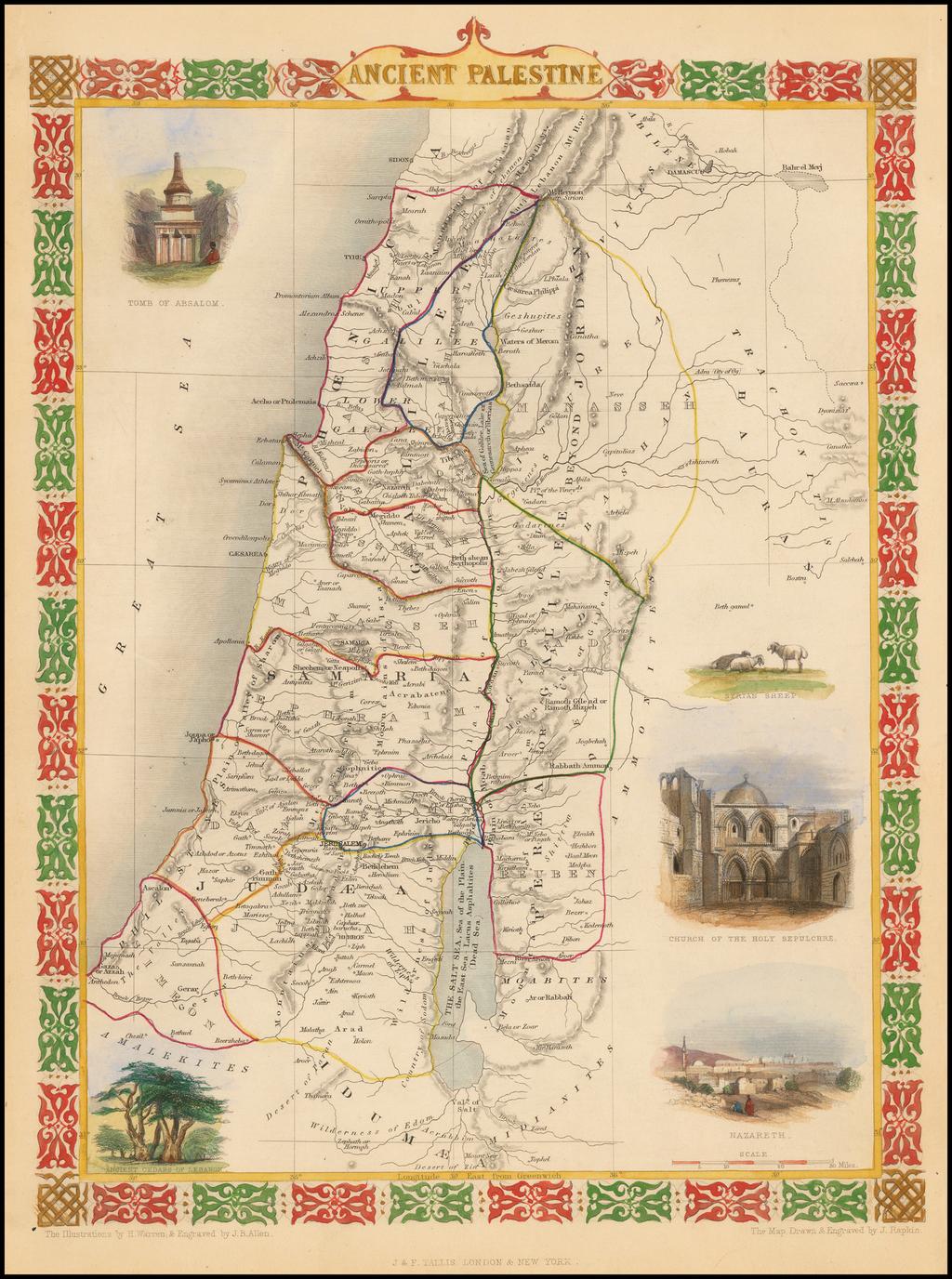 Ancient Palestine By John Tallis