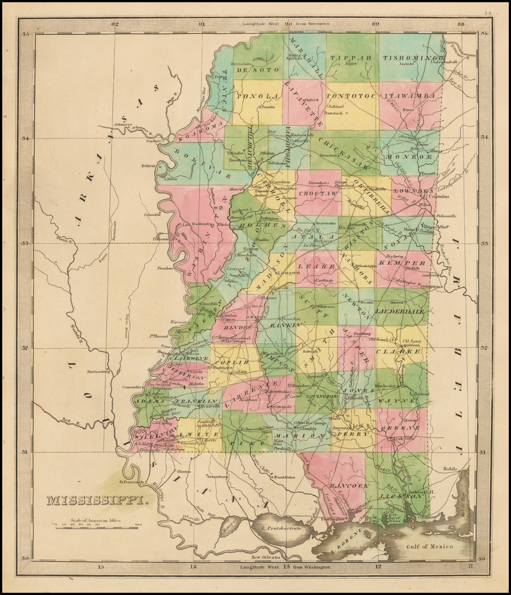 Mississippi By Jeremiah Greenleaf