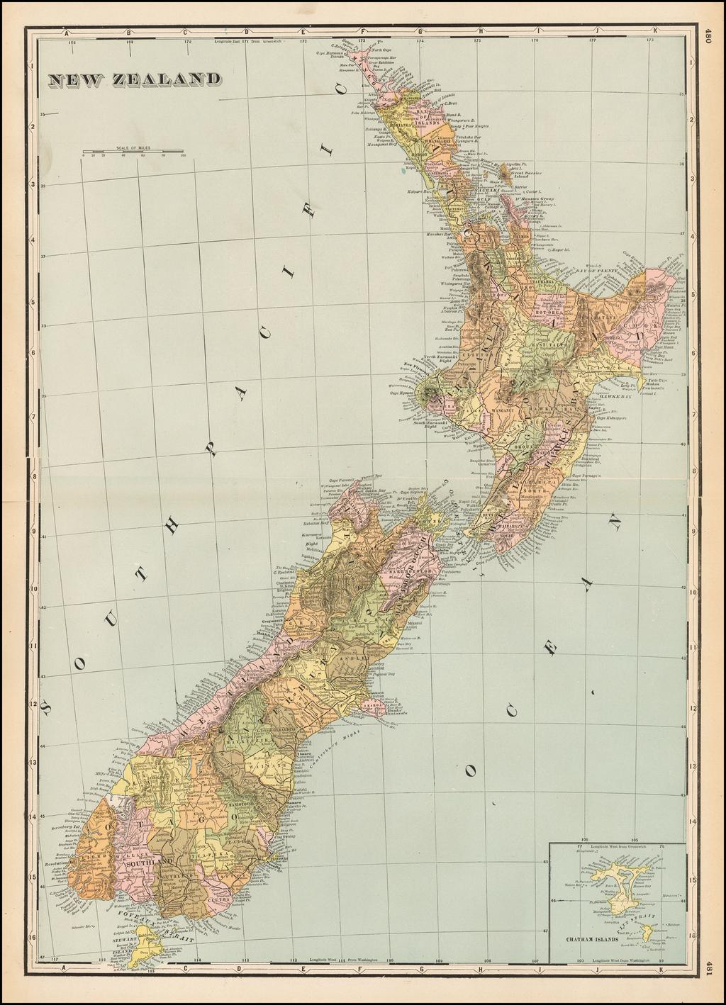 New Zealand By George F. Cram