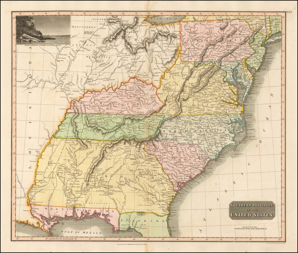 Southern Provinces of the United States By John Thomson