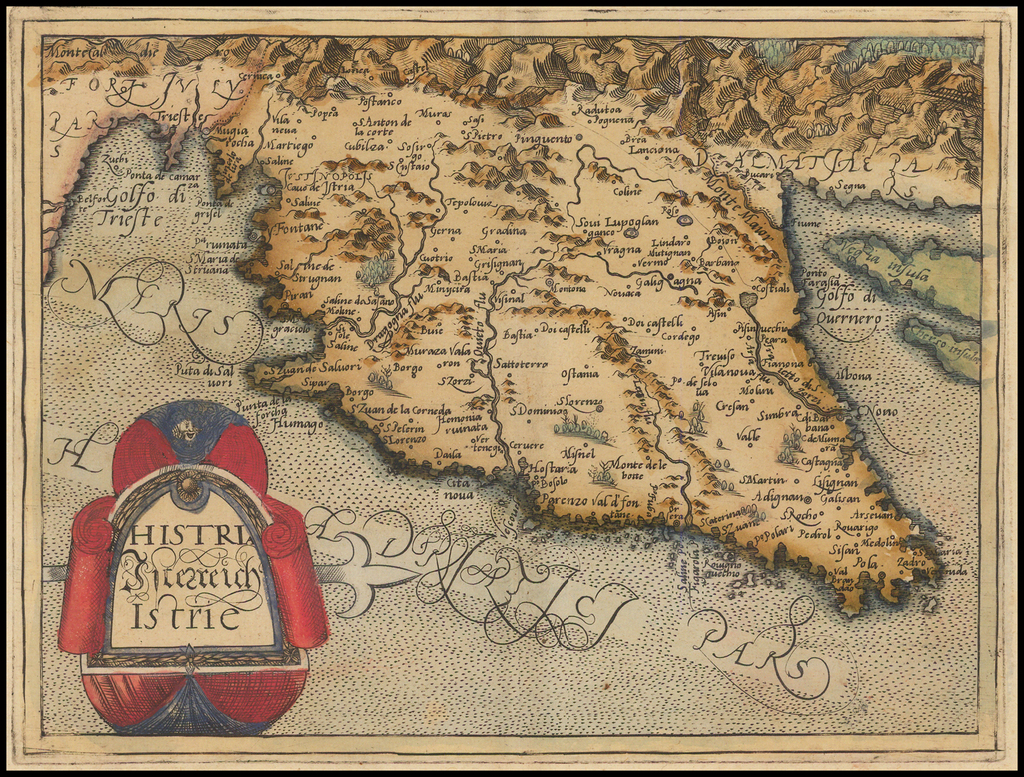 Histria Hitezreich  Istrie By Johannes Matalius Metellus