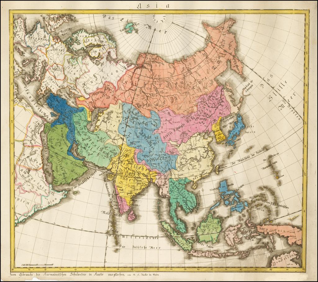 Asia By W. C. Rucker