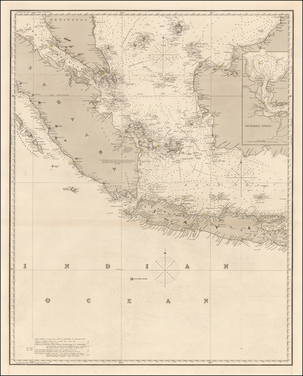 [Straits of Malacca, Sumatra, Java and Western Borneo] By Charles Wilson