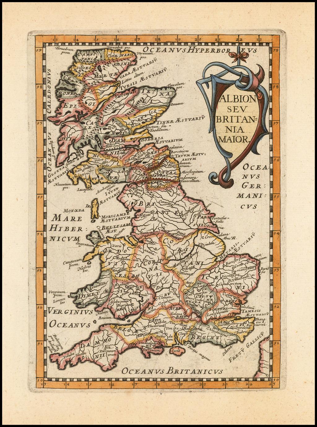 Albion Seu Britania Maior By Philip Briet