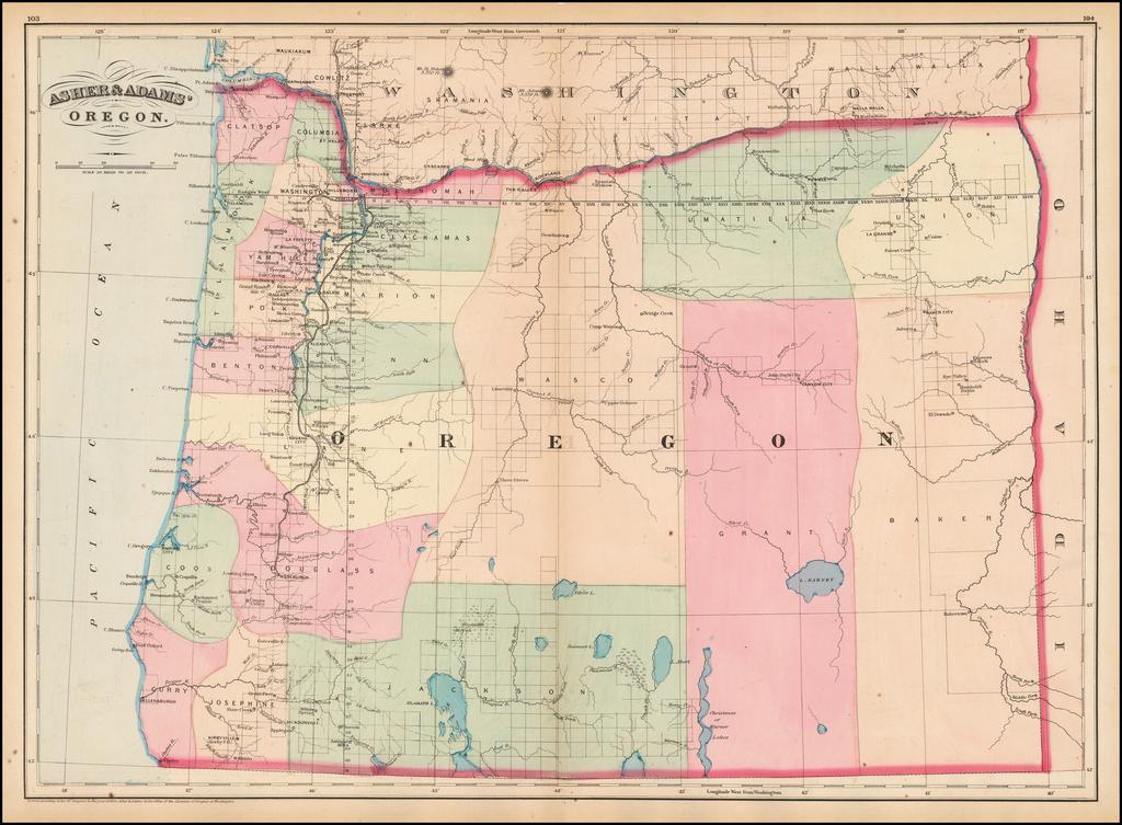 Asher & Adams' Oregon By Asher  &  Adams