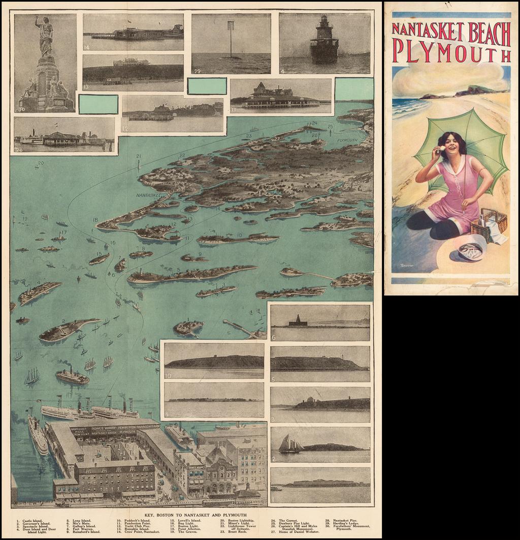 (Nantasket Beach Plymouth) By George Crosby & Co.