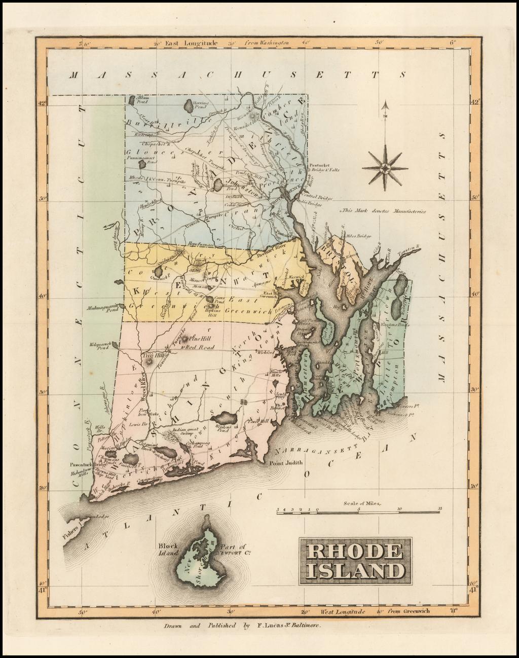 Rhode Island By Fielding Lucas Jr.
