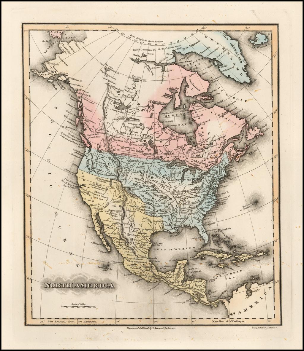 North America By Fielding Lucas Jr.