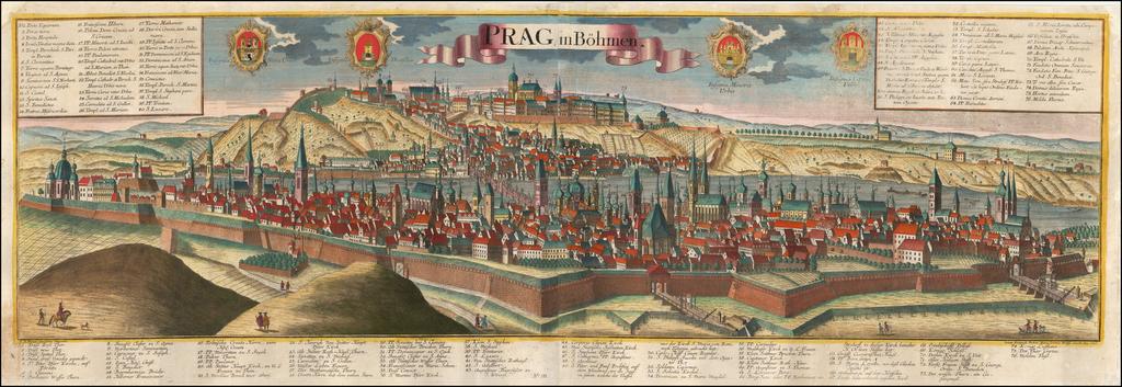Praga, in Bohmen By Friederich Bernhard Werner