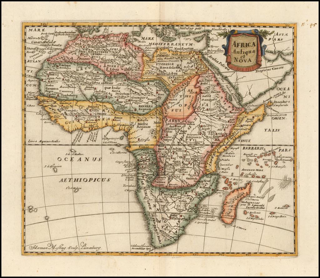 Africa Antiqua et Nova By Philipp Clüver