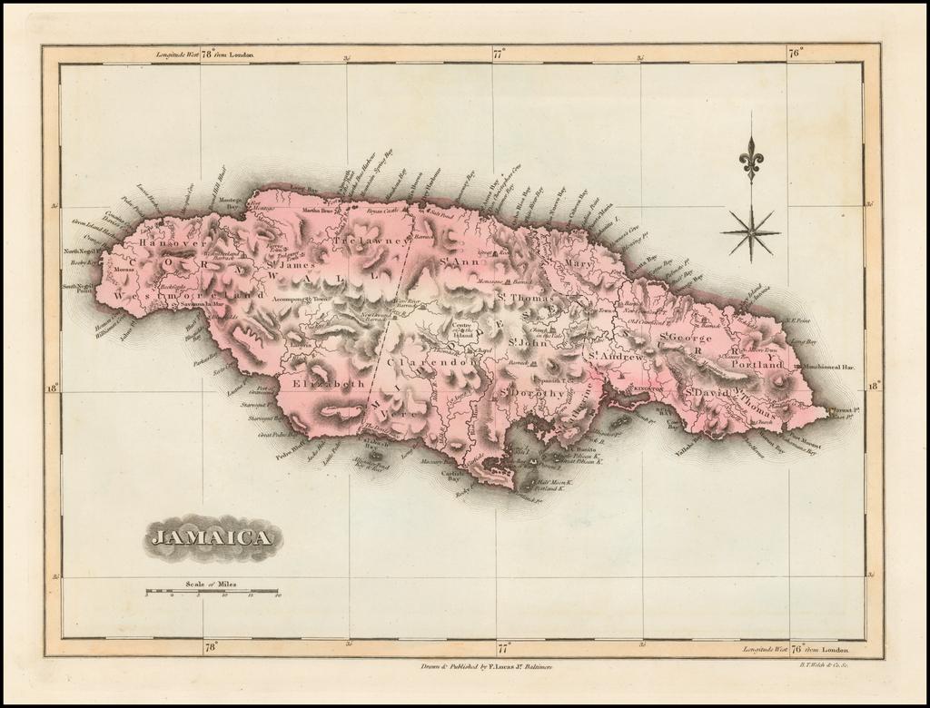 Jamaica By Fielding Lucas Jr.