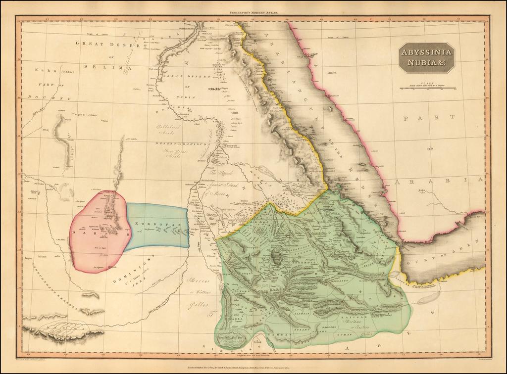 Abyssinia Nubia &c. By John Pinkerton