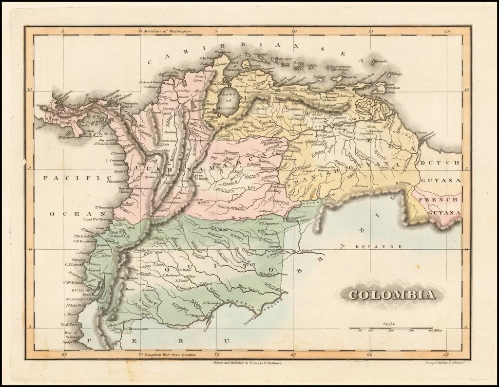 Colombia By Fielding Lucas Jr.