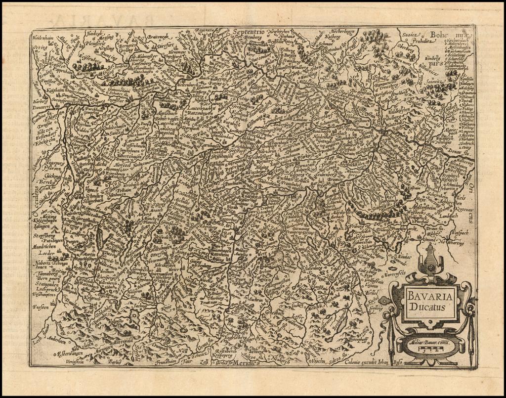 Bavaria Ducatus By Matthias Quad / Janus Bussemacher