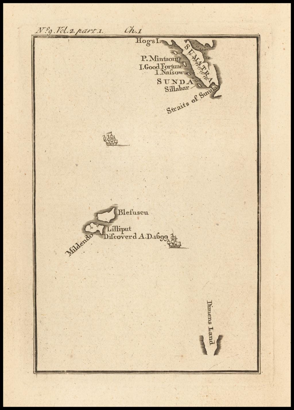 [Sunda and Lilliput, etc. from Gulliver's Travels] By Jonathan Swift