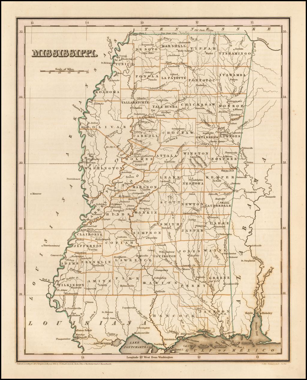 Mississippi By Thomas Gamaliel Bradford