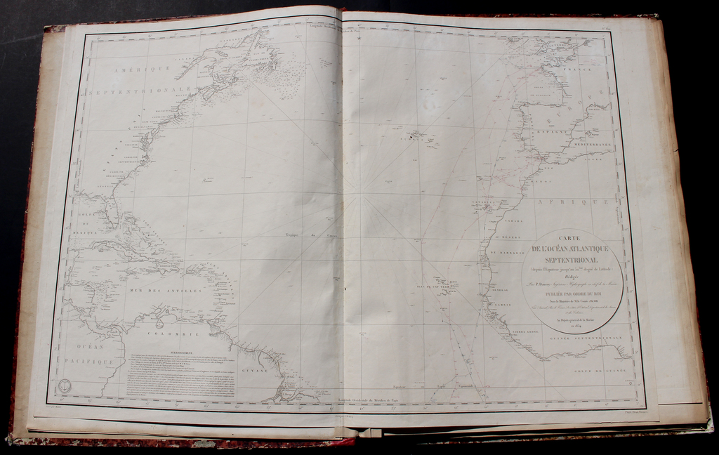 [French Composite Sea Atlas Focusing on Colonisation in Southeast Asia] By Various Makers
