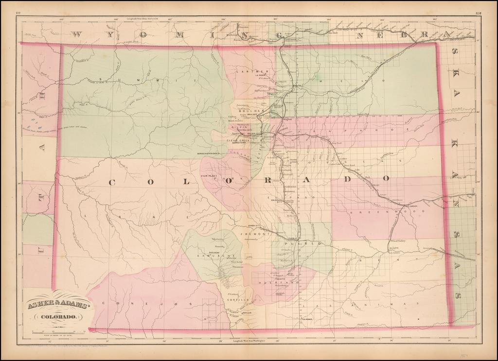 Asher & Adams' Colorado By Asher  &  Adams