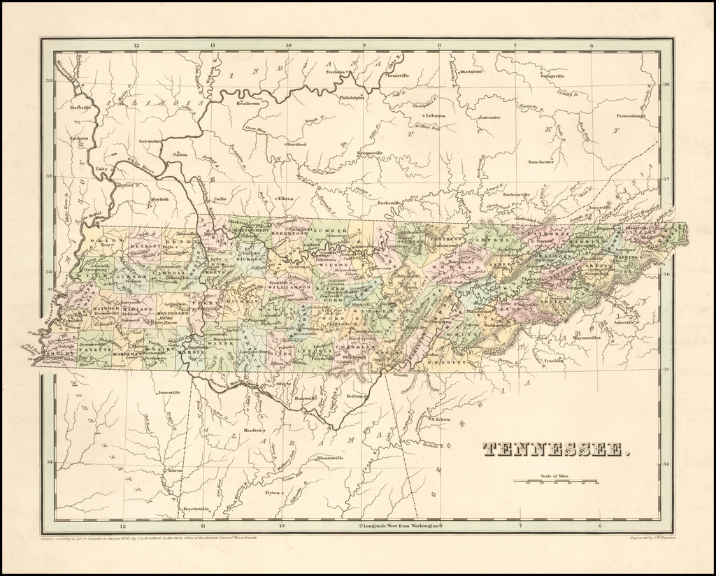 Tennessee By Thomas Gamaliel Bradford