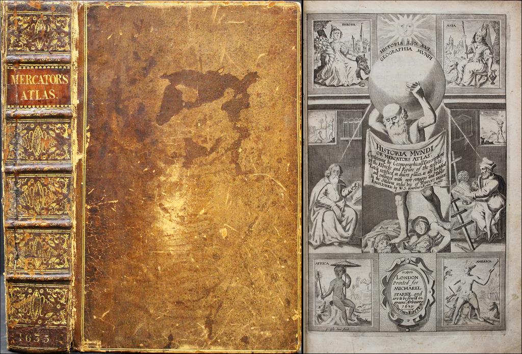 Historia Mundi or Mercators Atlas.   By Jodocus Hondius / Michael Sparke