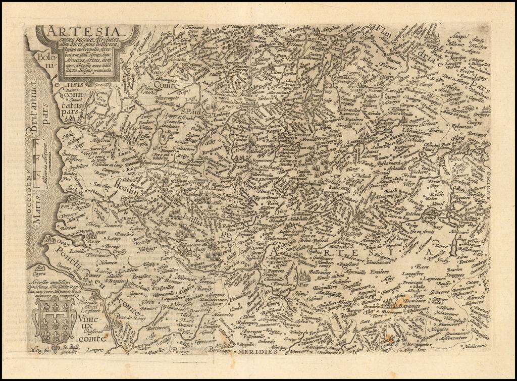 Artesia cuius incolae Atrebates olim dicti . . .  By Matthias Quad