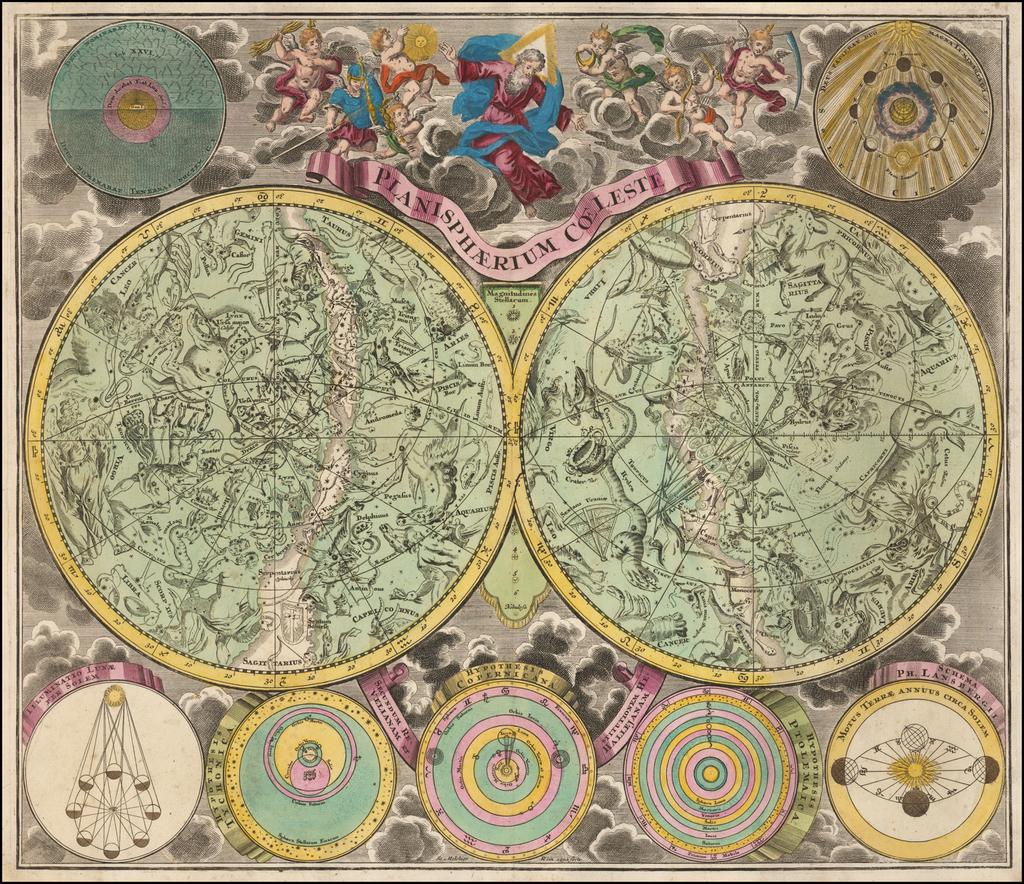 Planisphaerium Coeleste By Melchior Rein