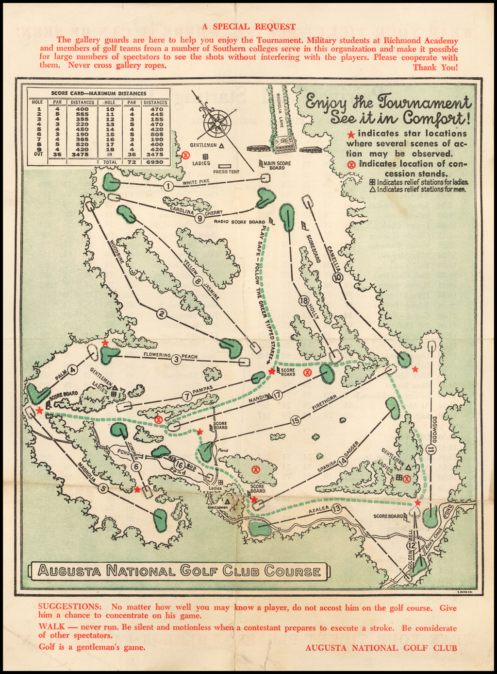Augusta National Golf Club Course - Barry Lawrence Ruderman Antique on st george georgia map, georgia road map, springfield georgia map, ft gaines georgia map, arlington georgia map, warm springs georgia map, augusta ga, columbus georgia map, stockton georgia map, st. mary's georgia map, albany georgia map, macon georgia map, chattanooga georgia map, etowah indian mounds georgia map, milledgeville georgia map, savannah georgia map, marietta georgia map, louisville georgia map, concord georgia map, atlanta georgia map,