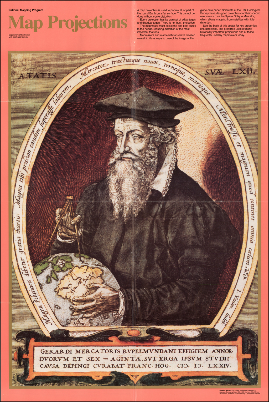 (Gerard Mercator) Map Projections -- National Mapping Program  By
