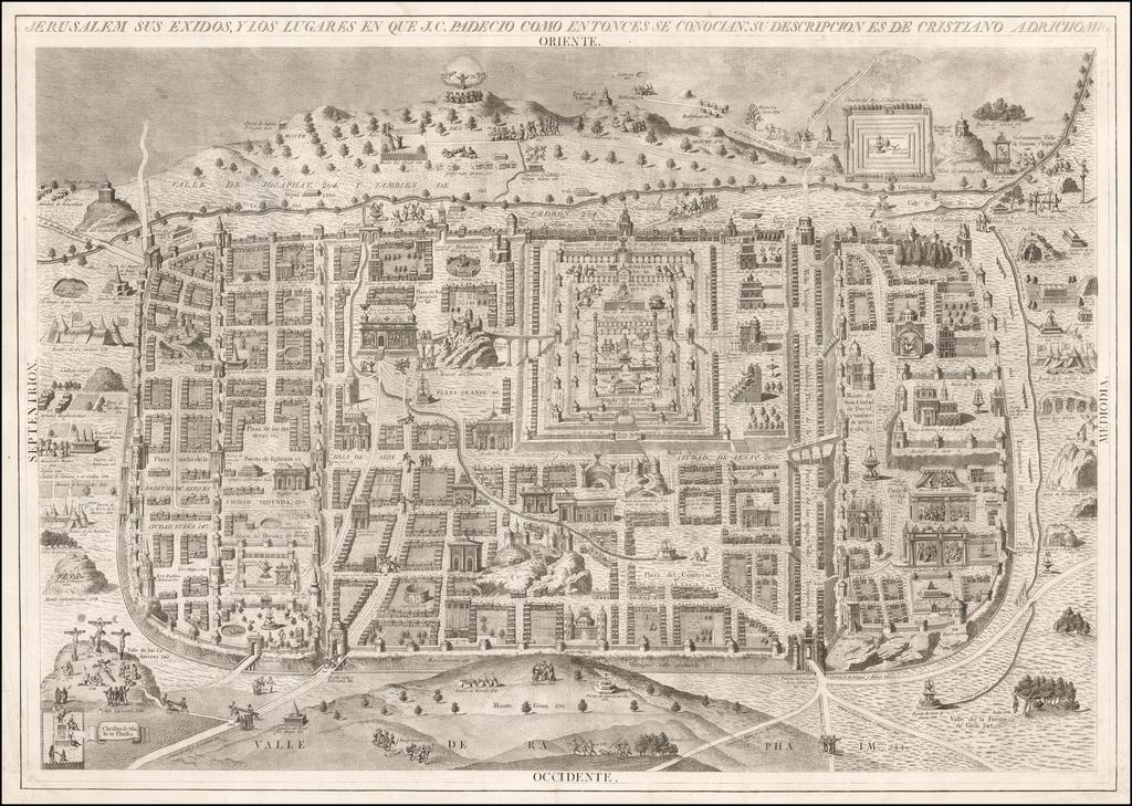 Jerusalem Sus Exidos, y Los Lugares en que J.C. Padecio Como Entonces Se Conocian: Su Descripcion de Cristiano By Manuele Navarre