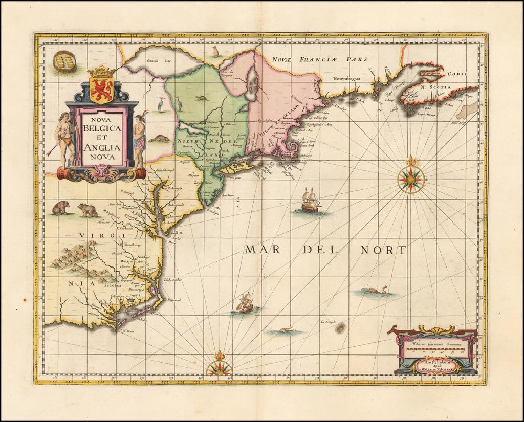 Nova Belgica et Anglia Nova By Peter Schenk  &  Gerard Valk