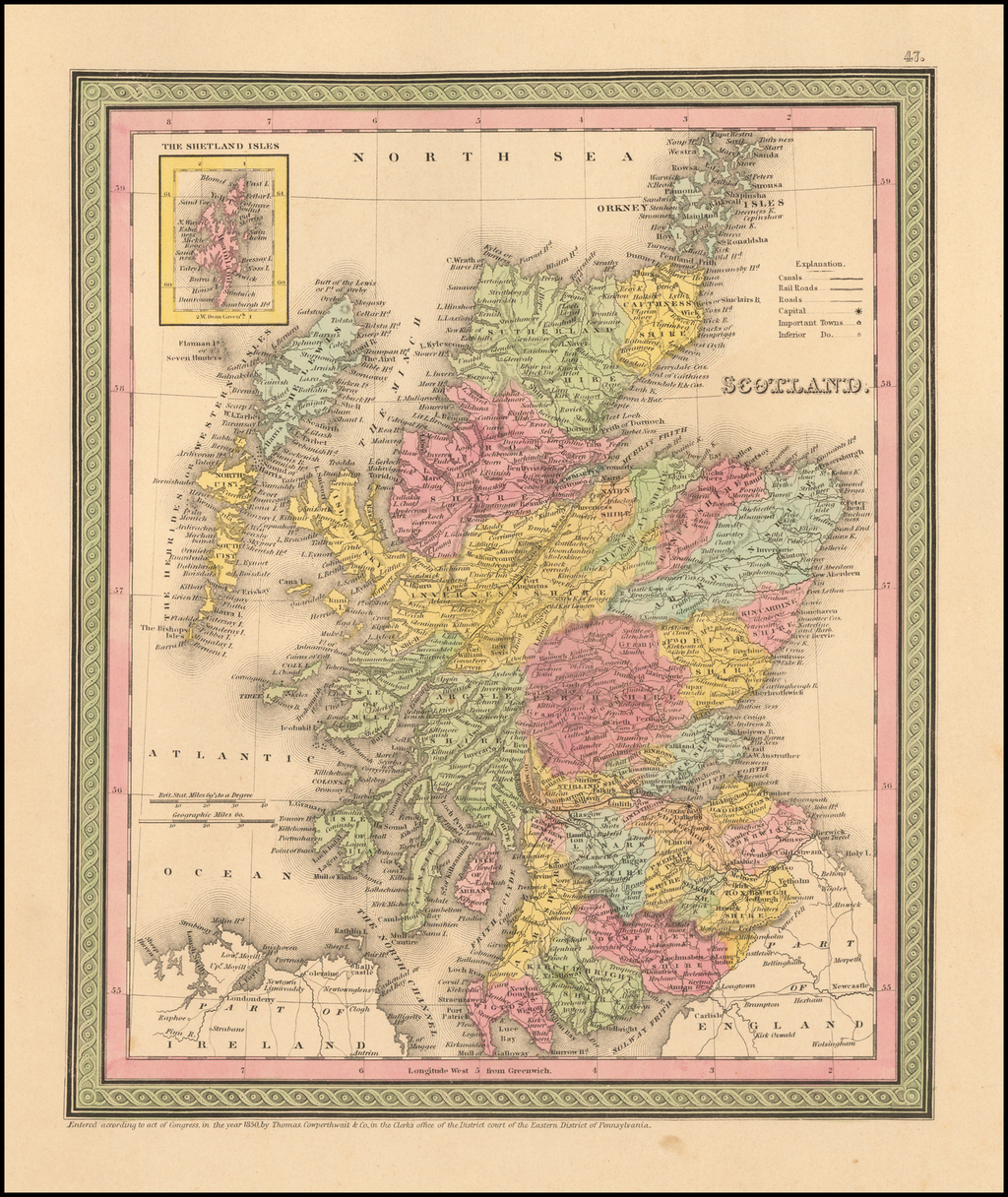 Scotland By Thomas, Cowperthwait & Co.