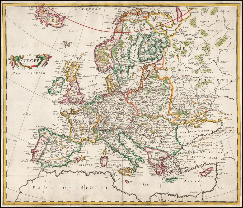 Europe By Robert Morden