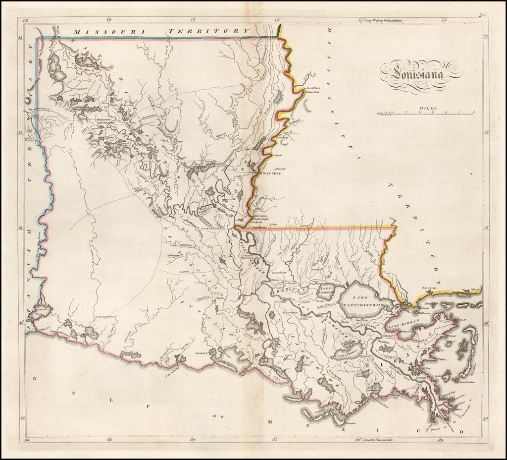 Louisiana By Matthew Carey