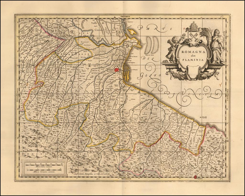 Romagna olim Flaminia (including San Marino) By Peter Schenk  &  Gerard Valk