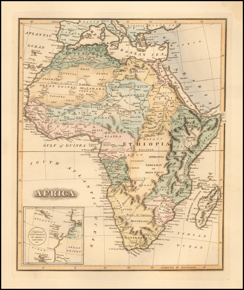Africa By Fielding Lucas Jr.