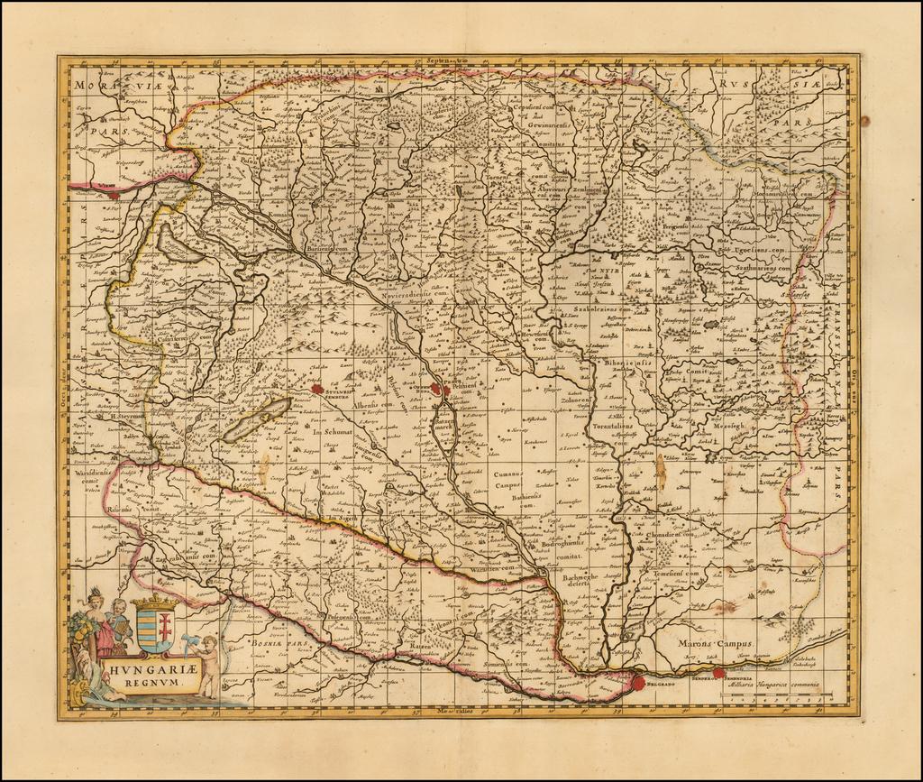 Hungariae Regnum By Peter Schenk  &  Gerard Valk