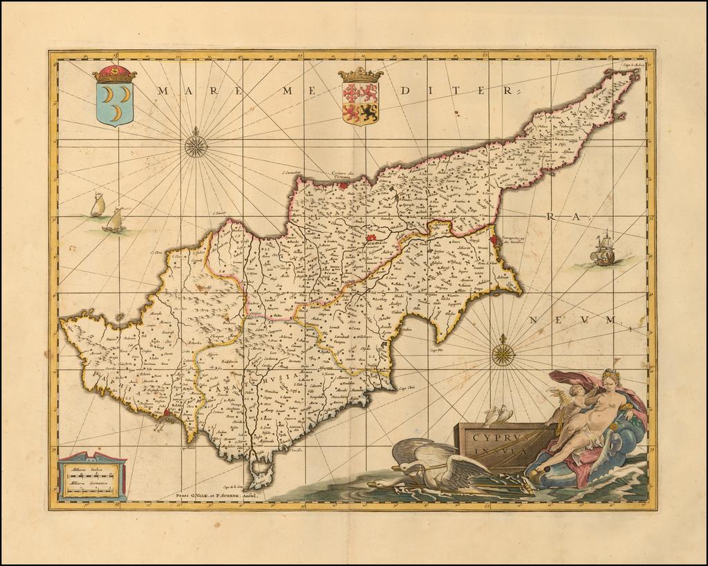 Cyprus Insula By Peter Schenk  &  Gerard Valk