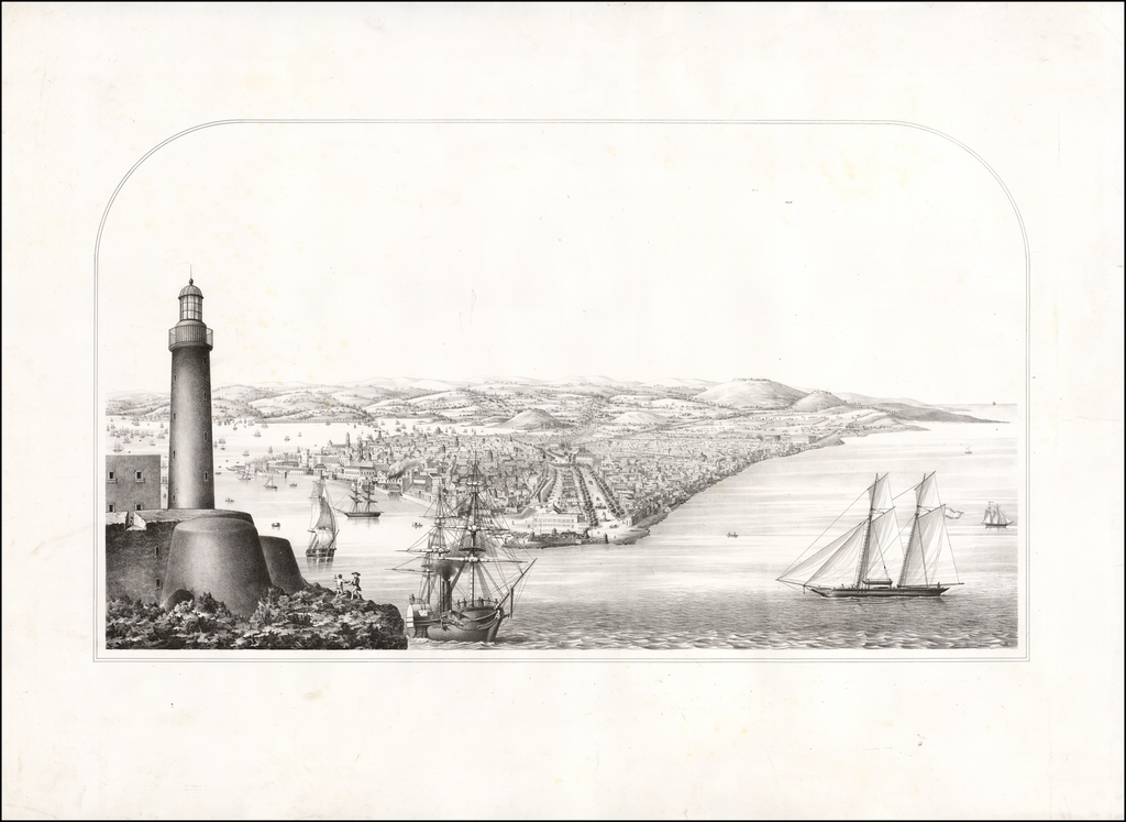 Untitled View of Havana By Anonymous