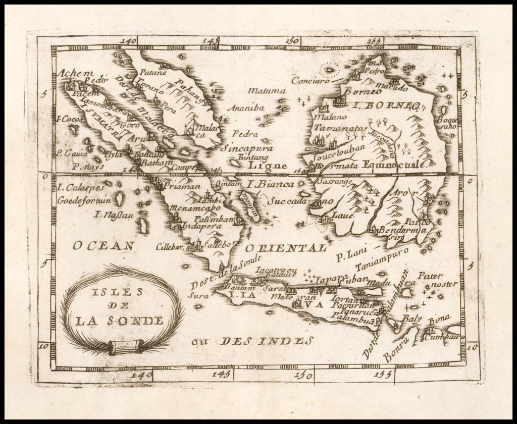 Isles de la Sonde By Pierre Du Val