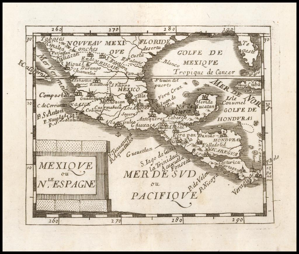 Mexique ou Nole. Espagne By Pierre Du Val