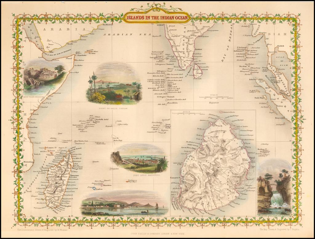 Islands in the Indian Ocean By John Tallis