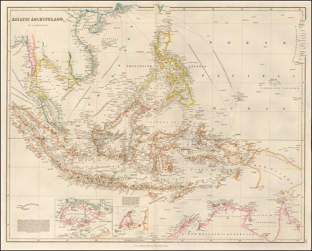 Asiatic Archipelago By John Arrowsmith