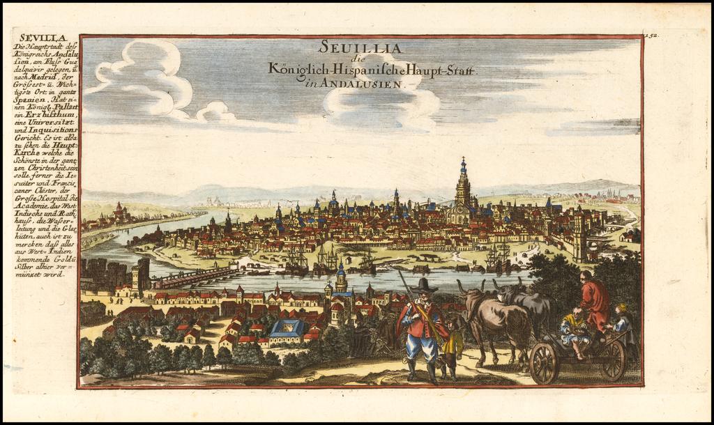 (Sevilla)  Sevillia die Koniglich-Hispanishce Haput-Statt in Andalusien By Gabriel Bodenehr