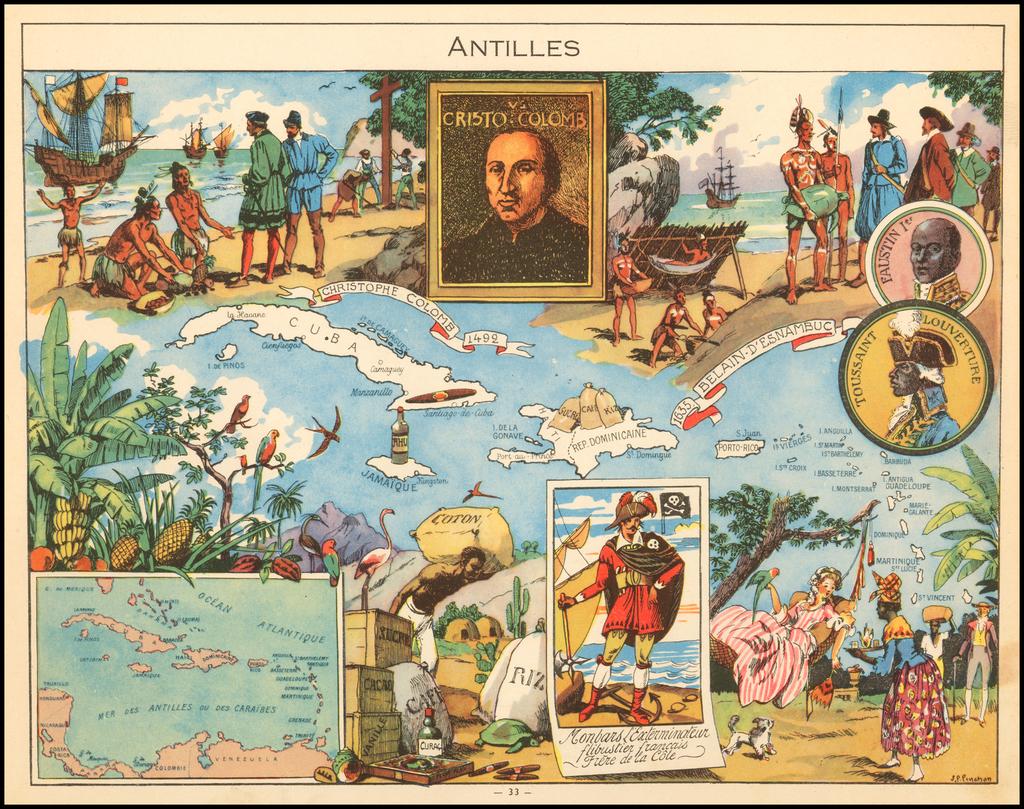 Antilles By Joseph Porphyre Pinchon