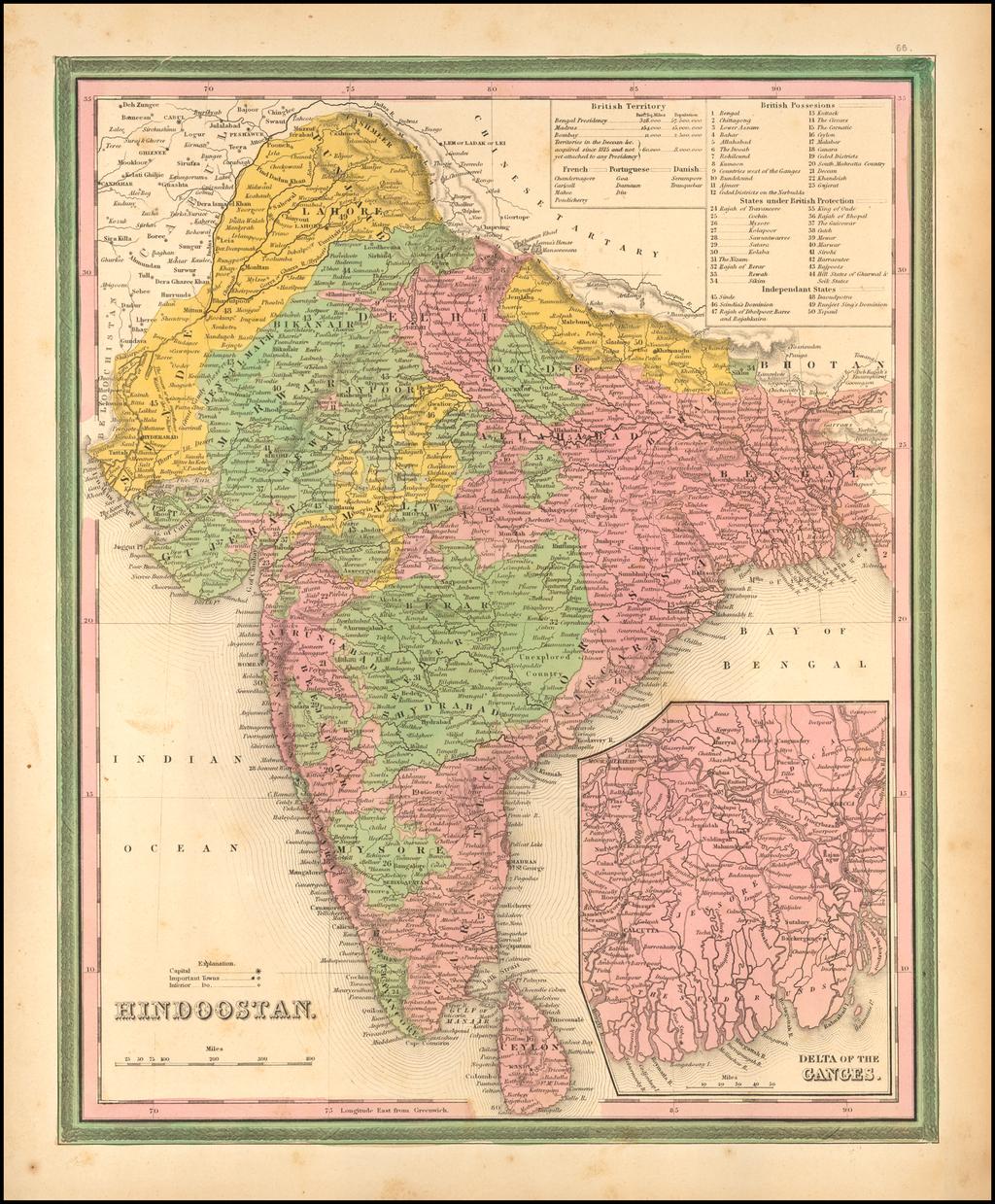 Hindoostan By Samuel Augustus Mitchell