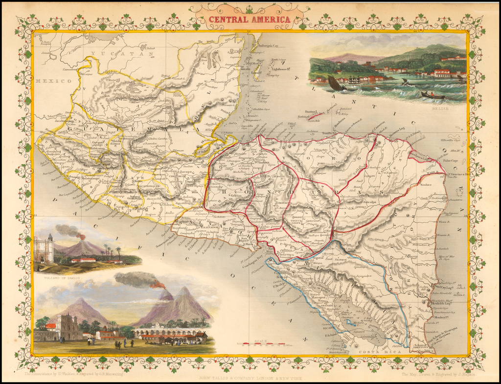 Central America By John Tallis