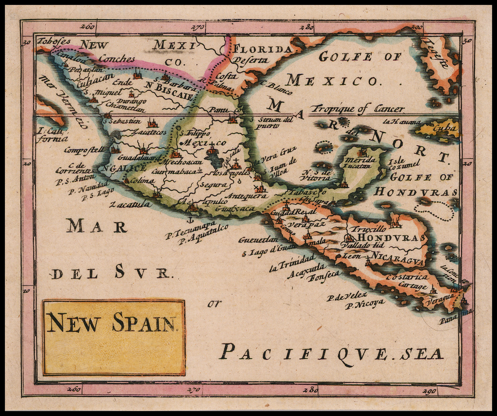 New Spain By Sir Jonas Moore