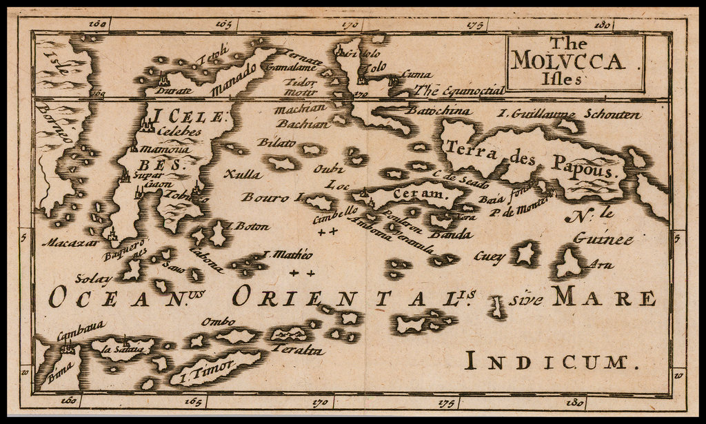 The Molucca Isles By Sir Jonas Moore