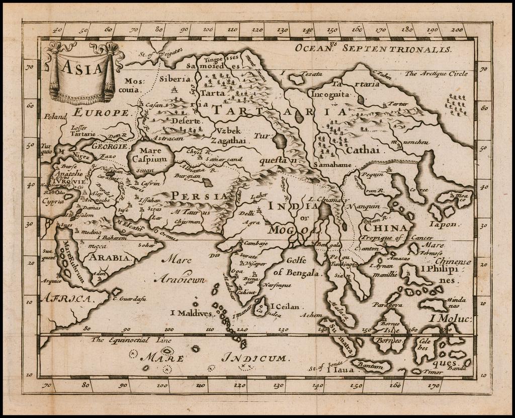 Asia By Sir Jonas Moore